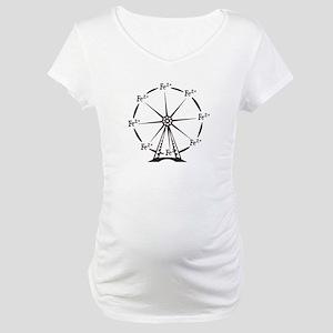 Ferrous Ferris Wheel Maternity T-Shirt