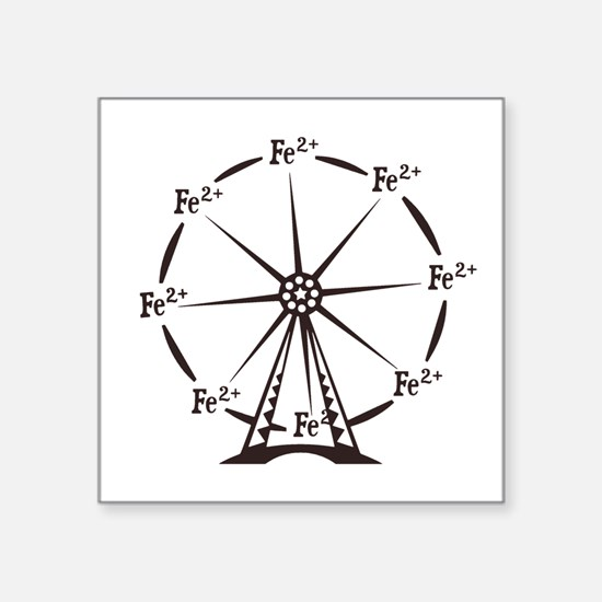 Ferrous Ferris Wheel Sticker