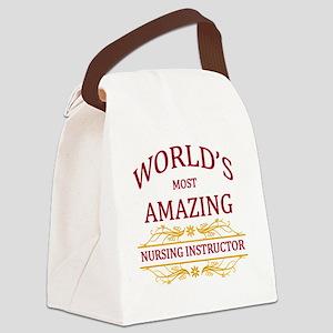 Nursing Instructor  Canvas Lunch Bag