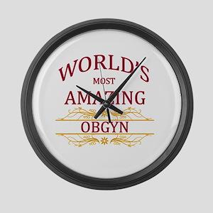 OBGYN Large Wall Clock