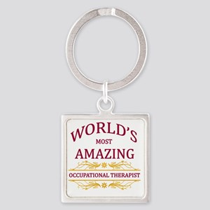 Occupational Therapist Square Keychain