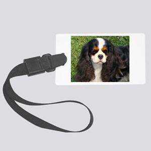 Cavalier King Charles Spaniel Large Luggage Tag