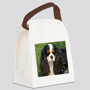 Cavalier King Charles Spaniel Canvas Lunch Bag