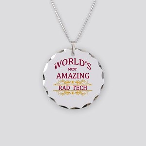 Rad Tech Necklace Circle Charm