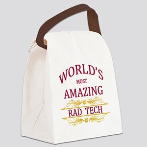 Rad Tech Canvas Lunch Bag