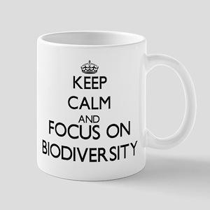 Keep calm and focus on Biodiversity Mugs