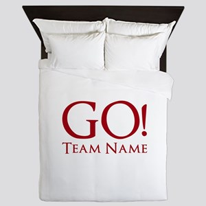 Go Team. Queen Duvet