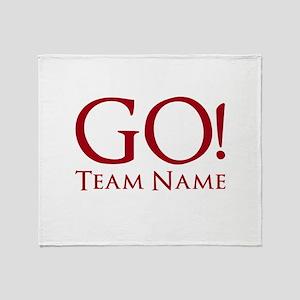 Go Team. Throw Blanket