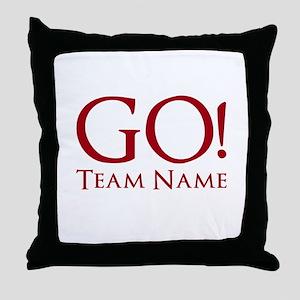 Go Team. Throw Pillow