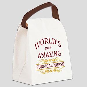 Surgical Nurse Canvas Lunch Bag
