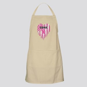 Breast Cancer Cure Light Apron