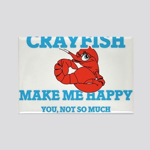 Crayfish Make Me Happy Magnets