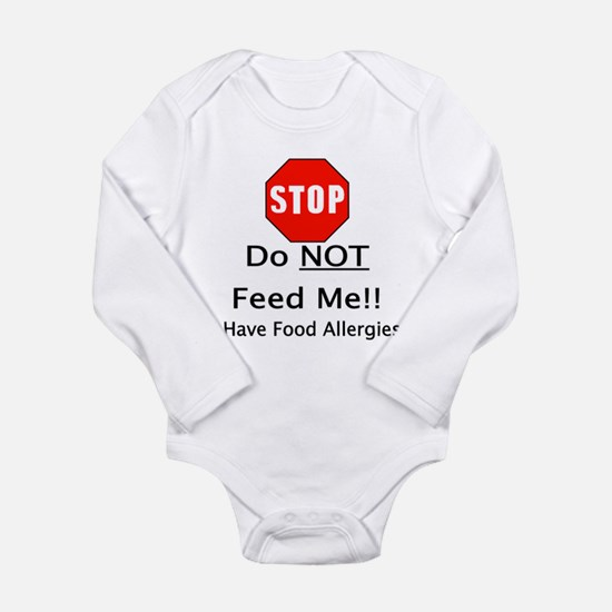 Do not feed me, allergies.png Body Suit