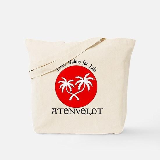 Barony of Atenveldt populace badge Tote Bag