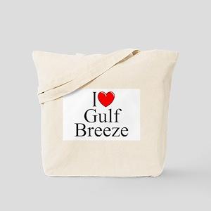 """I Love Gulf Breeze"" Tote Bag"