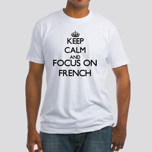Keep calm and focus on French T-Shirt