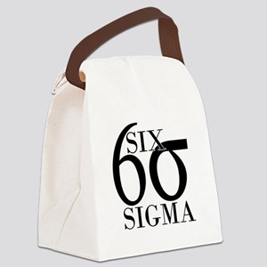 Six Sigma Canvas Lunch Bag