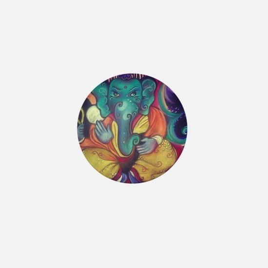 Ganesha Mini Button