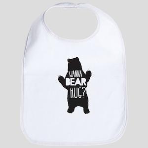Wanna Bear Hug Bib