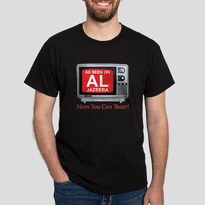 College Humor shirts Al Jazeera Dark T-Shirt