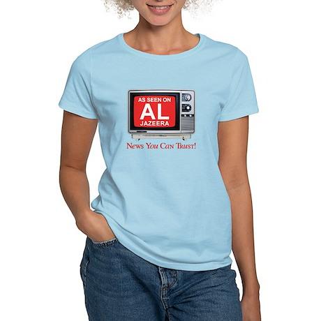 College Humor shirts Al Jazeera Women's Light T-Sh