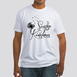 SCATTER KINDNESS Fitted T-Shirt