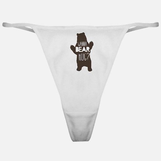 Wanna Bear Hug? Classic Thong