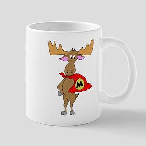 Superhero Moose Mug