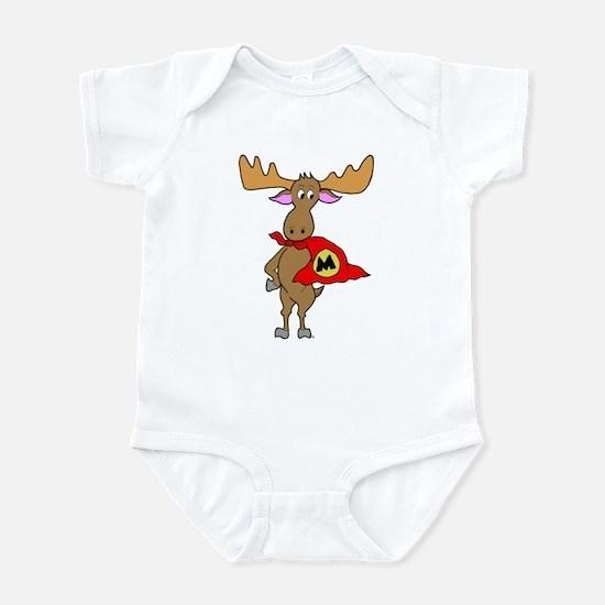 Superhero Moose Infant Bodysuit