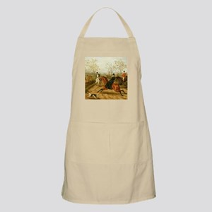 Riding Sidesaddle to the Hunt Apron