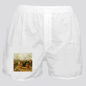 Riding Sidesaddle to the Hunt Boxer Shorts