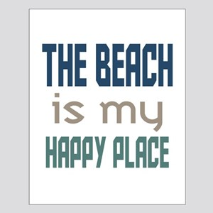 Beach Happy Place Posters Small Poster