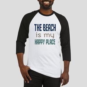 Beach Happy Place Baseball Jersey