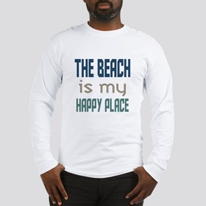 Beach Happy Place Long Sleeve T-Shirt