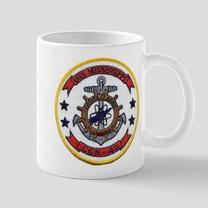 USS MISSISSIPPI Mug
