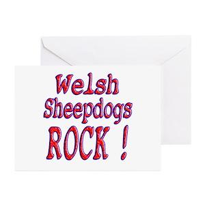 Welsh sheepdog greeting cards cafepress m4hsunfo
