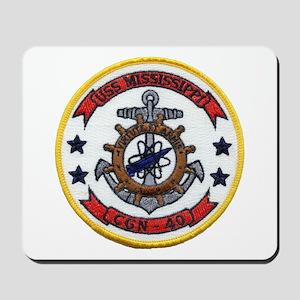 USS MISSISSIPPI Mousepad