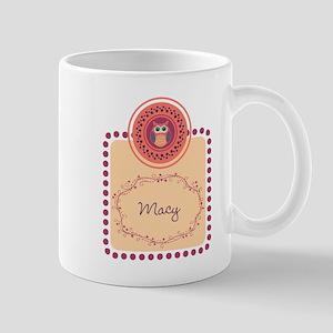 Whimsical Owl Mugs
