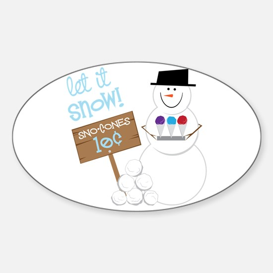 Let It Snow! Decal