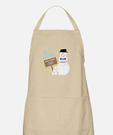 Let It Snow! Apron