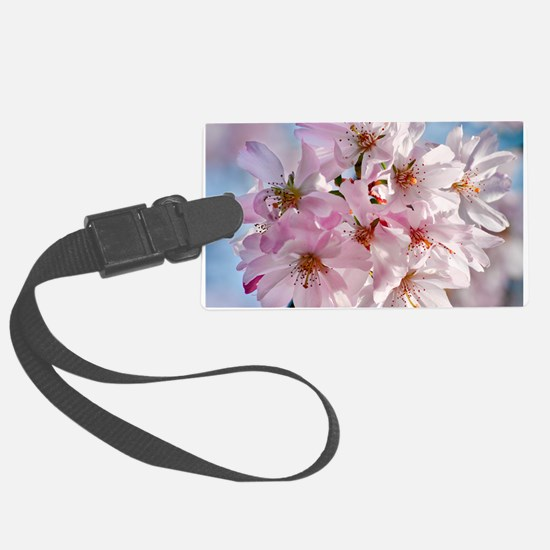 Japanese Cherry Blossoms Luggage Tag