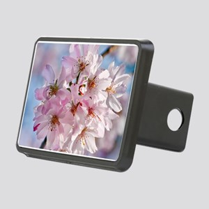 Japanese Cherry Blossoms Rectangular Hitch Cover