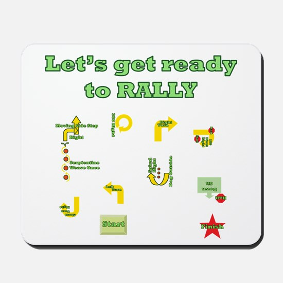 Get Ready Rally Mousepad