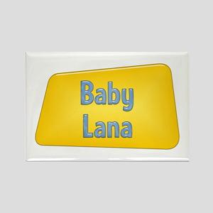 Baby Lana Rectangle Magnet