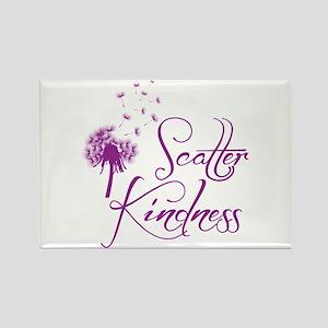 Scatter Kindness Rectangle Magnet