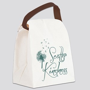 Scatter Kindness Canvas Lunch Bag