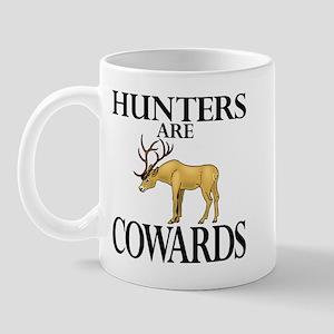 Hunters are cowards Mug