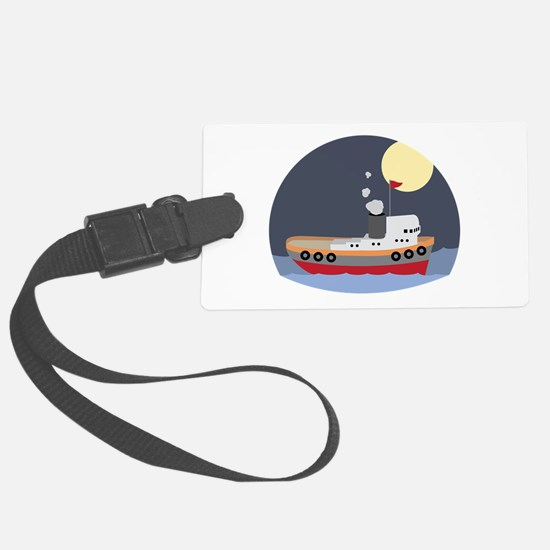 Tug Boat Luggage Tag