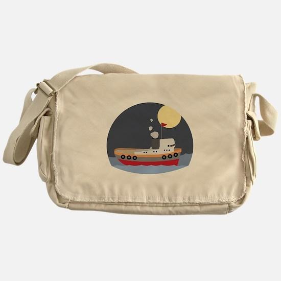 Tug Boat Messenger Bag