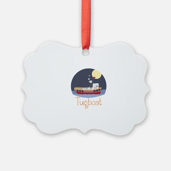 Tugboat Ornament